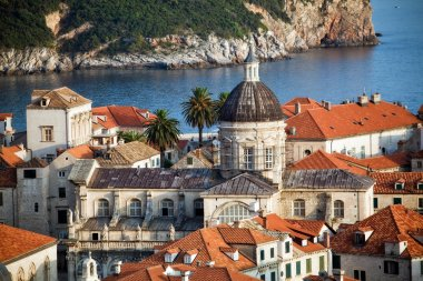Dubrovnik old town view