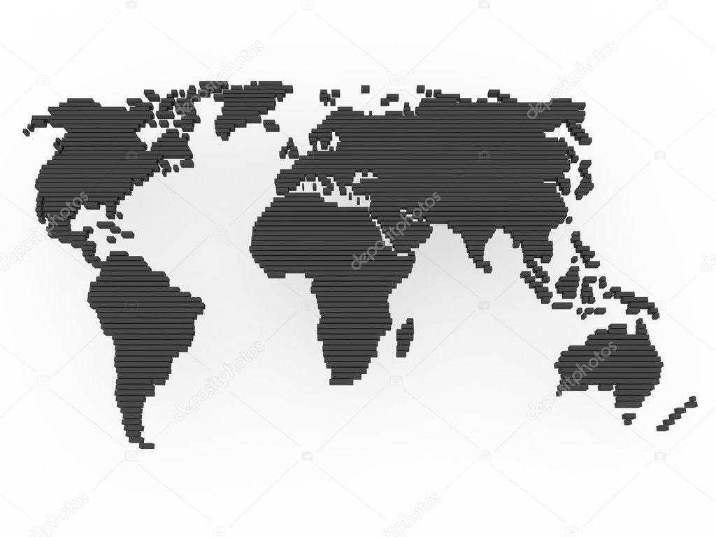 World map black grey stock photo dariusl 5573105 world map black grey stock photo gumiabroncs Choice Image