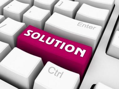 Solution button