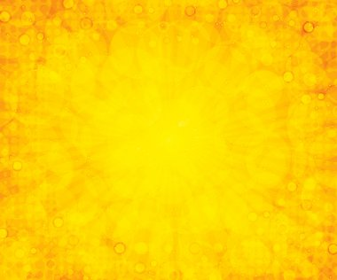 Yellow summer background