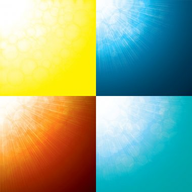 Sun rays abstract backgrounds