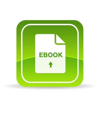 Green Ebook Document Icon
