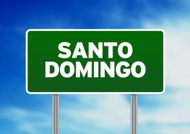 Green Road Sign - Santo Domingo, Dominican Republic