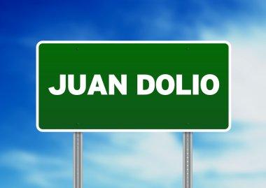 Green Road Sign - Juan Dolio, Dominican Republic