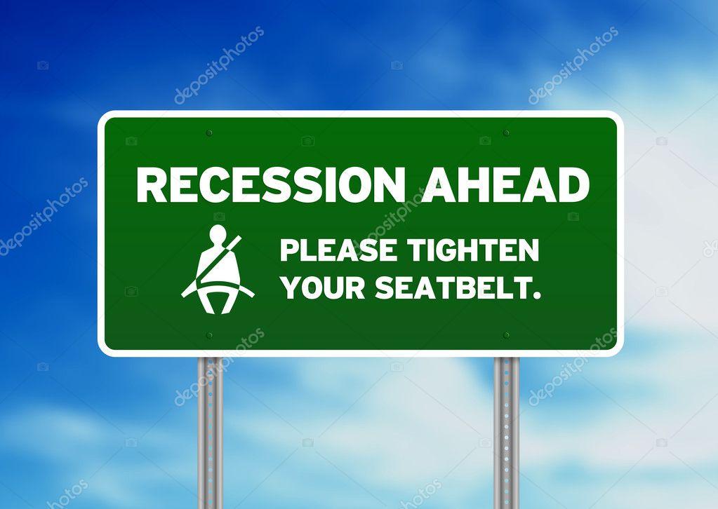 recession #hashtag