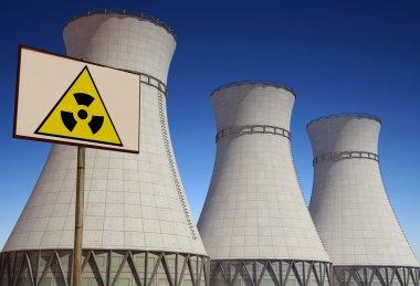 "Картина, постер, плакат, фотообои ""атомная электростанция."", артикул 5486164"