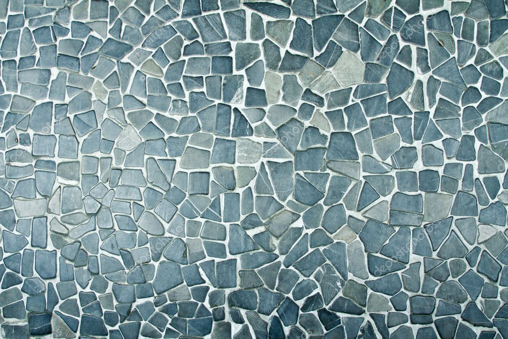 Beautiful blue stone background texture