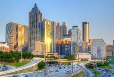 Skyline of Downtown, Atlanta Georgia