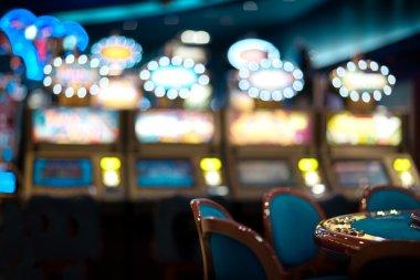 Still life in a casino