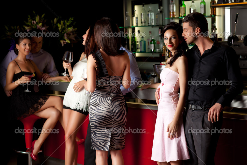 Young couple at the bar stock photo shotsstudio 5939871 for Video sexe amateur en exterieur