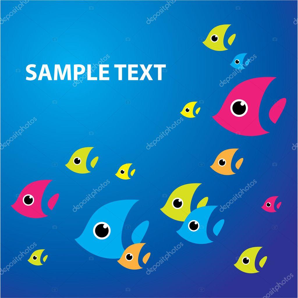 Sea-fish-background