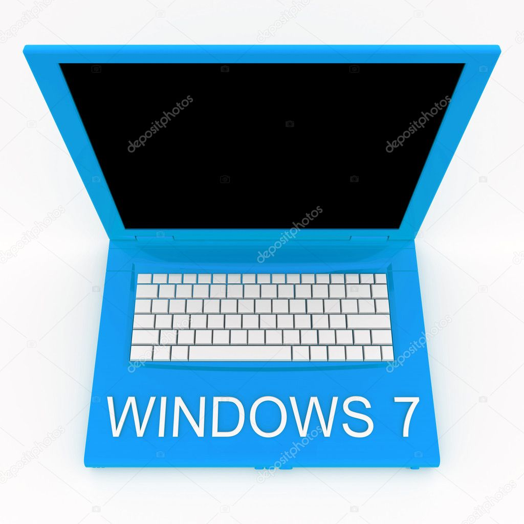Wallpapers Hd Laptop Windows 7 Laptop Computer With