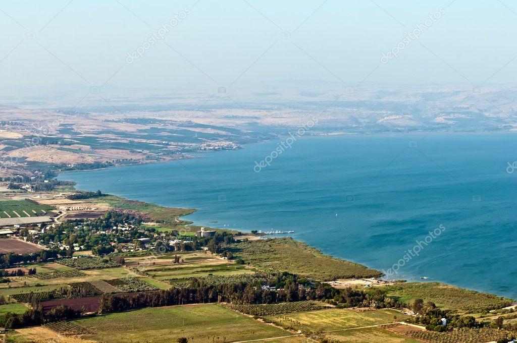 Sea of Galilee .
