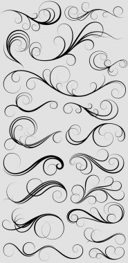 A Set Of Thin Swirl Elements