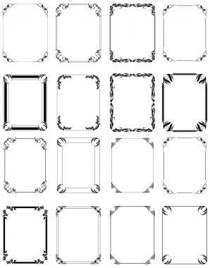 Elegance Vector Frames
