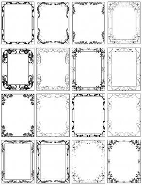 Oval Decorative Frames