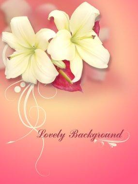 Creative Conceptual Design Of Flower Background