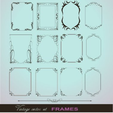 Creative Decor Fancy Design Frame Collection