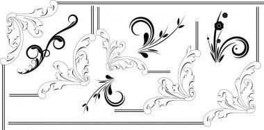 Rococo Element Frame Designs