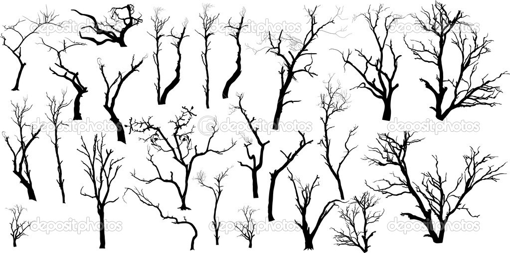Isolated Dead Trees Set