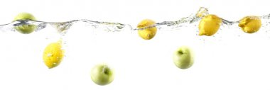 Floating fruit border