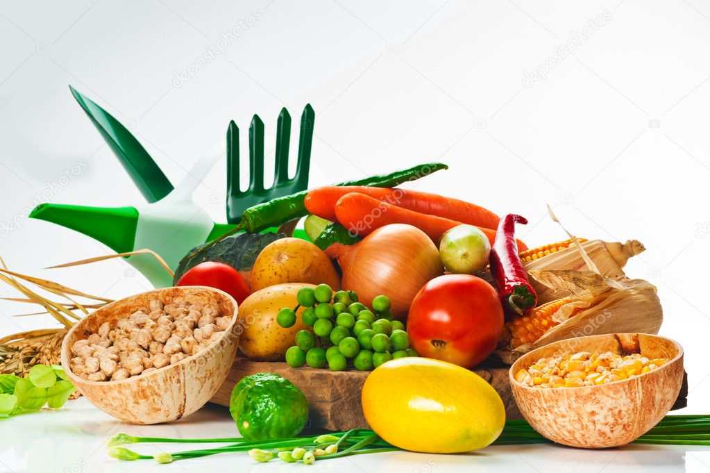 gem se kohl tomaten gurken zwiebel salat und usw stockfoto 5661989. Black Bedroom Furniture Sets. Home Design Ideas