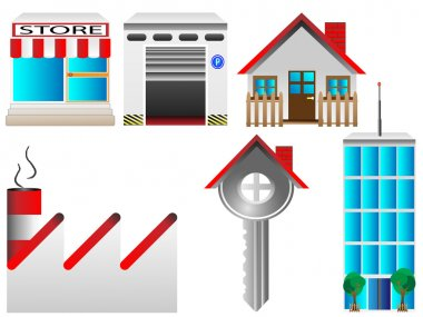 Real estate houses