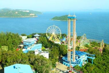 Amusement park rides in Hong Kong