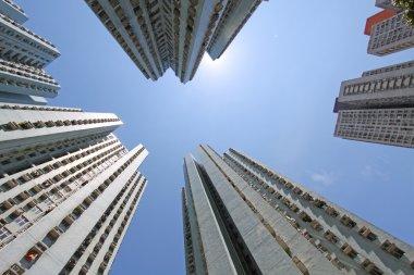 Hong Kong crowded housing apartments
