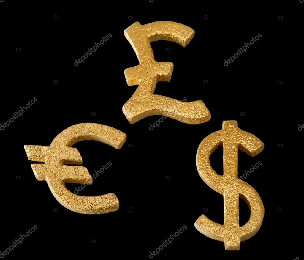 Golden dollar euro and pound sterling symbol stock photo golden dollar euro and pound sterling symbol stock photo biocorpaavc Gallery