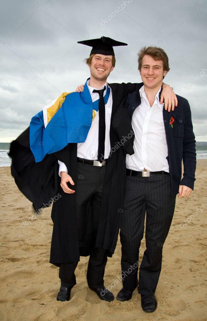 Graduation. Student graduating cap gown — Stock Photo © tlorna #5753112