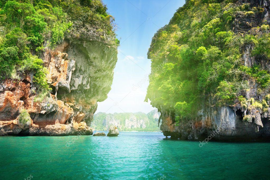 Фотообои Rockson Railay beach in Krabi Thailand