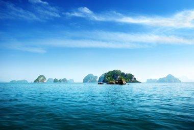 Island in Andaman sea Thailand
