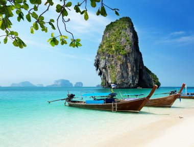 Railay beach in Krabi Thailand