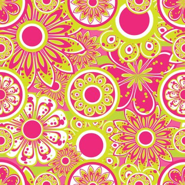 Flower pattern seamless