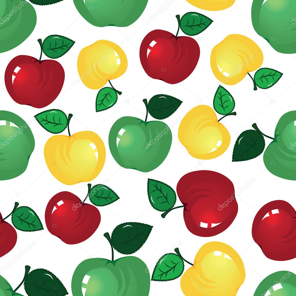 Apple seamless background
