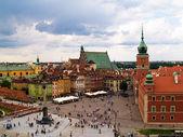 Fotografia città vecchia piazza, Varsavia, Polonia