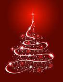 Vánoční stromeček s hvězdami