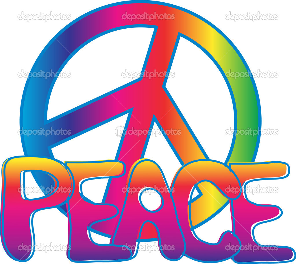Peace Sign Stock Vectors Royalty Free Peace Sign Illustrations