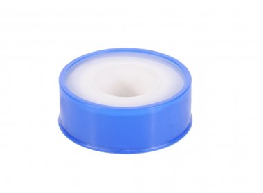 Thread seal tape, isolated on white