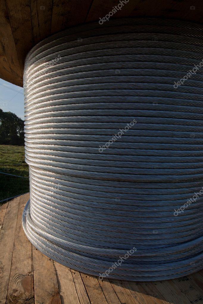 Spulen mit Strom Draht — Stockfoto © Stramyk #6426390