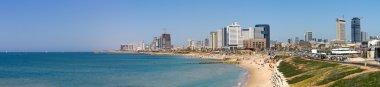 Tel-Aviv beach.
