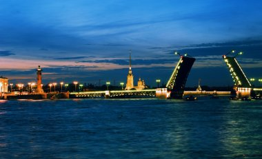 White nights of St.Petersburg.