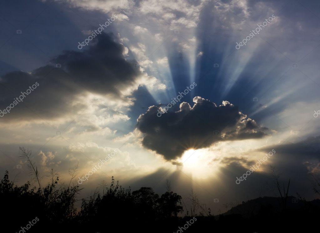 Image of sun shine