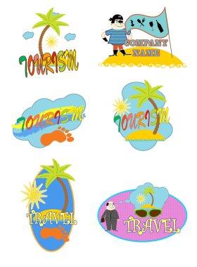 Logo. tourism vector