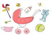 kočárek Baby a dětské zboží kolekce