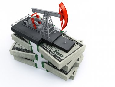 Oil pump and dollars