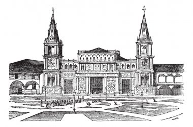 Cathedral of Guayaquil or Cathedral of Saint Peter, Ecuador