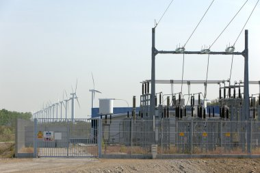 Wind turbine and electrical transformer