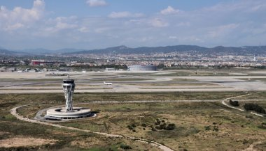 Barcelona Airport control tower